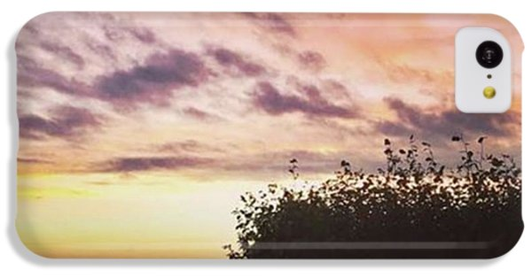 A Beautiful Morning Sky At 06:30 This IPhone 5c Case by John Edwards