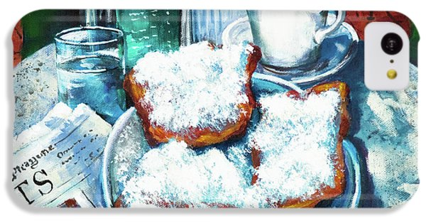 Time iPhone 5c Case - A Beignet Morning by Dianne Parks