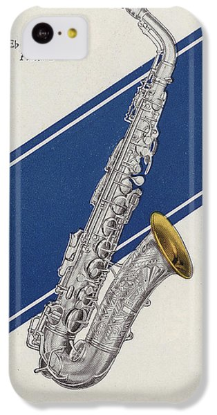 A Charles Gerard Conn Eb Alto Saxophone IPhone 5c Case by American School