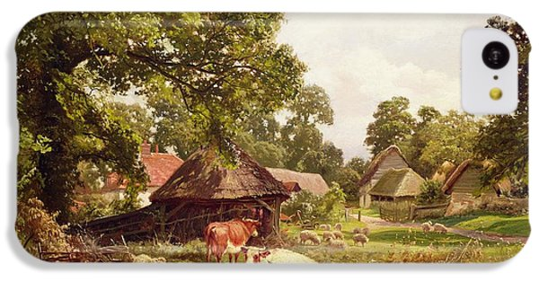 A Cottage Home In Surrey IPhone 5c Case by Edward Henry Holder