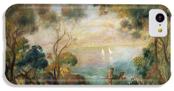 A Garden In Sorrento IPhone 5c Case by Pierre Auguste Renoir