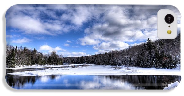IPhone 5c Case featuring the photograph A Moose River Snowscape by David Patterson