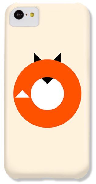 A Most Minimalist Fox IPhone 5c Case