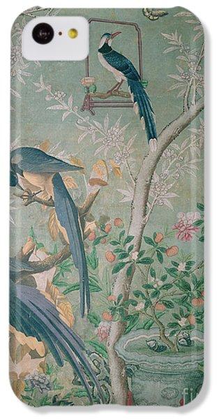 A Pair Of Magpie Jays  Vintage Wallpaper IPhone 5c Case by John James Audubon