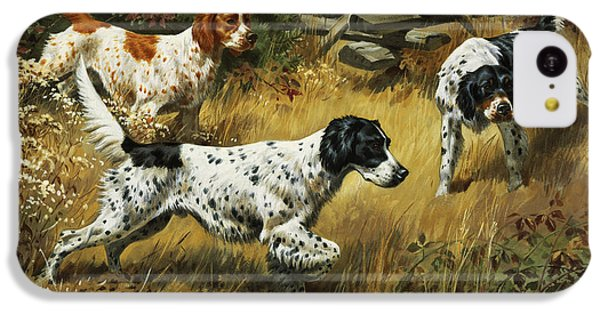 Pheasant iPhone 5c Case - A Quail Hides In A Covert From Pointing by Walter A. Weber