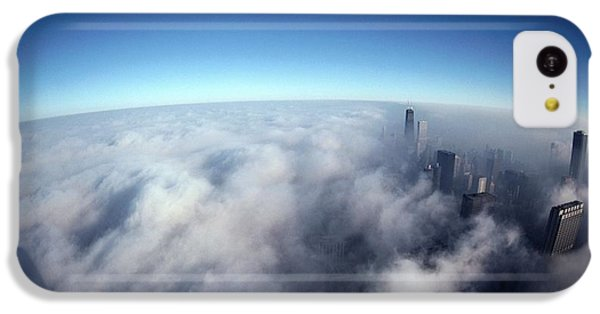 Chicago Skyline iPhone 5c Case - A Shadow Of The Sears Tower Slants by Steve Raymer