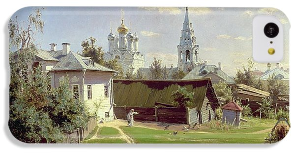 A Small Yard In Moscow IPhone 5c Case by Vasilij Dmitrievich Polenov