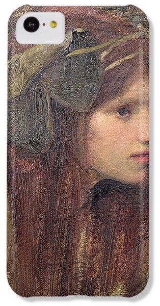 Portraits iPhone 5c Case - A Study For A Naiad by John William Waterhouse