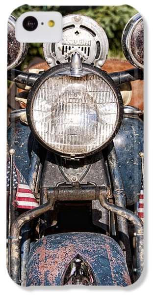A Very Old Indian Harley-davidson IPhone 5c Case