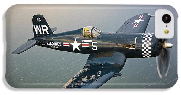 A Vought F4u-5 Corsair In Flight IPhone 5c Case