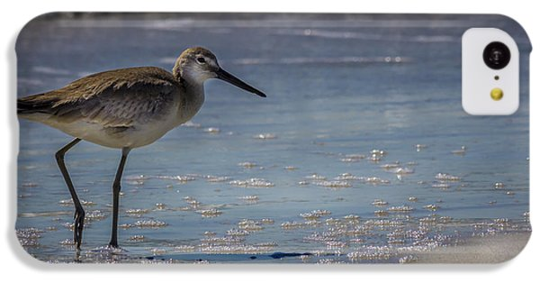 Sandpiper iPhone 5c Case - A Walk On The Beach by Marvin Spates
