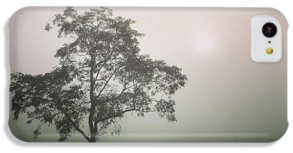 iPhone 5c Case - A Walk Through The Clouds #fog #nuneaton by John Edwards