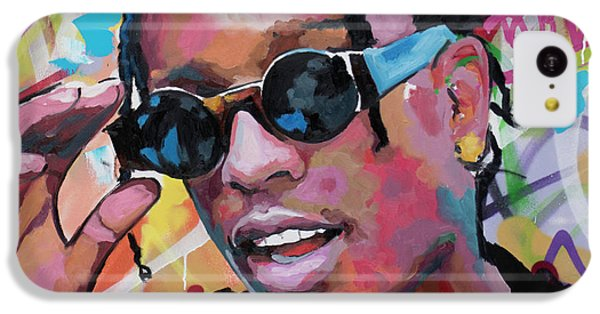 Harlem iPhone 5c Case - A$ap Rocky by Richard Day