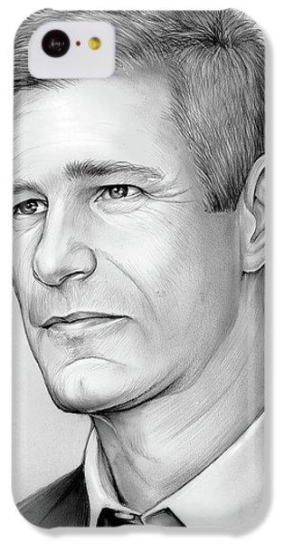 Knight iPhone 5c Case - Aaron Eckhart by Greg Joens