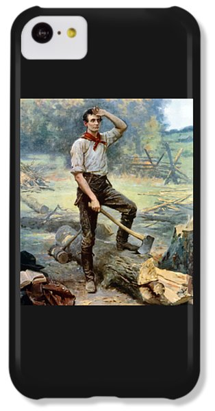 Abe Lincoln The Rail Splitter  IPhone 5c Case