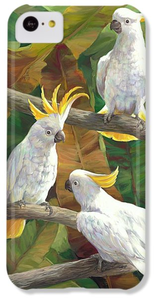 Cockatoo iPhone 5c Case - Above It All by Laurie Hein