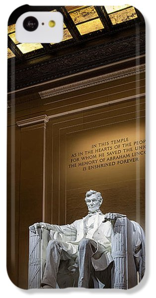 Abraham Lincoln IPhone 5c Case by Andrew Soundarajan