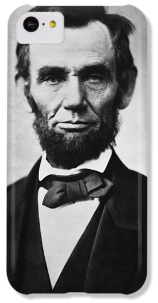 Abraham Lincoln iPhone 5c Case - Abraham Lincoln by War Is Hell Store