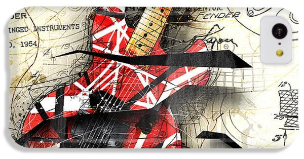 Abstracta 35 Eddie's Guitar IPhone 5c Case by Gary Bodnar