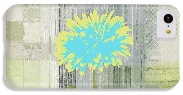 Flowers iPhone 5c Case - Abstractionnel - 29grfl3c-gr3 by Variance Collections