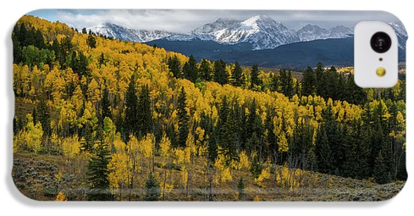 IPhone 5c Case featuring the photograph Acorn Creek Autumn by Aaron Spong