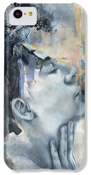 Figurative iPhone 5c Case - Across A Thousand Blades by Patricia Ariel