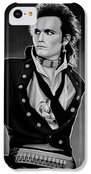 Ant iPhone 5c Case - Adam Ant Painting by Paul Meijering