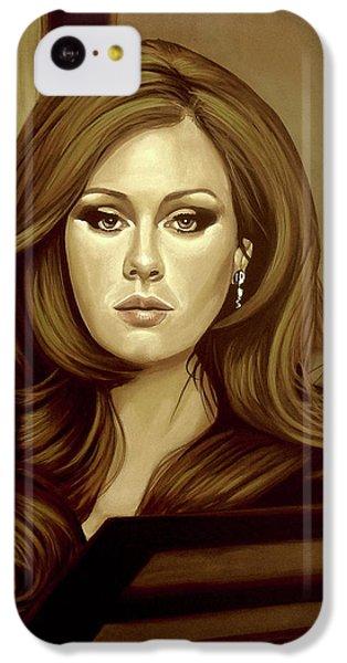 Adele Gold IPhone 5c Case by Paul Meijering