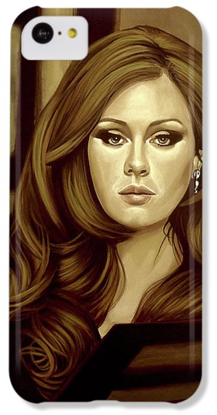 Rhythm And Blues iPhone 5c Case - Adele Gold by Paul Meijering