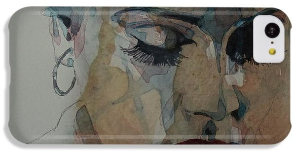 Adele - Make You Feel My Love  IPhone 5c Case by Paul Lovering