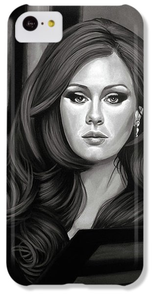 Rhythm And Blues iPhone 5c Case - Adele Mixed Media by Paul Meijering