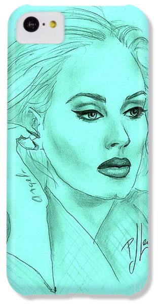 Adele IPhone 5c Case by P J Lewis
