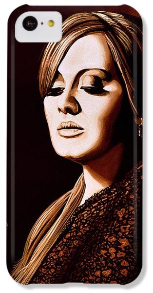 Adele Skyfall Gold IPhone 5c Case by Paul Meijering