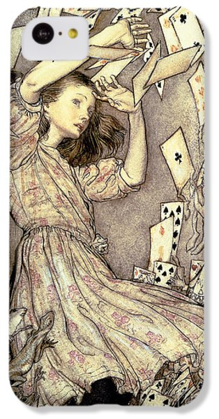 Adventures In Wonderland IPhone 5c Case by Arthur Rackham