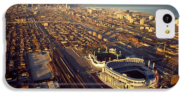 Aerial View Of A City, Old Comiskey IPhone 5c Case