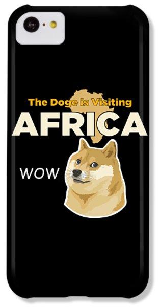 Africa Doge IPhone 5c Case by Michael Jordan