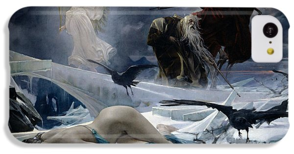 Ahasuerus At The End Of The World IPhone 5c Case by Adolph Hiremy Hirschl