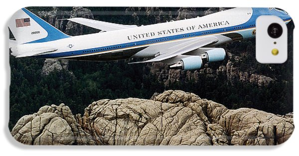 Air Force One Flying Over Mount Rushmore IPhone 5c Case