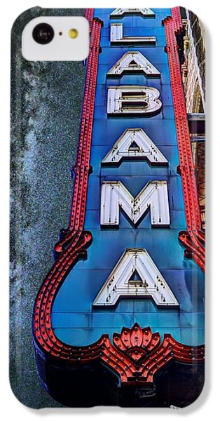 Alabama IPhone 5c Case by JC Findley