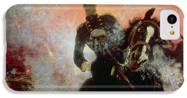 Albert I King Of The Belgians In The First World War IPhone 5c Case by Ilya Efimovich Repin