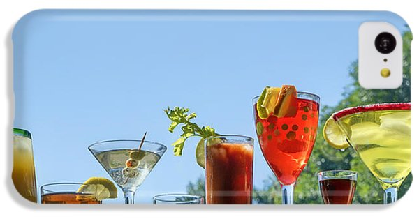 Bloody Mary iPhone 5c Case - Alcoholic Beverages - Outdoor Bar by Nikolyn McDonald