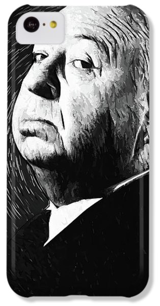 Grace Kelly iPhone 5c Case - Alfred Hitchcock by Taylan Apukovska
