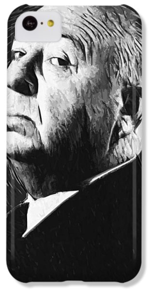 Alfred Hitchcock IPhone 5c Case by Taylan Apukovska