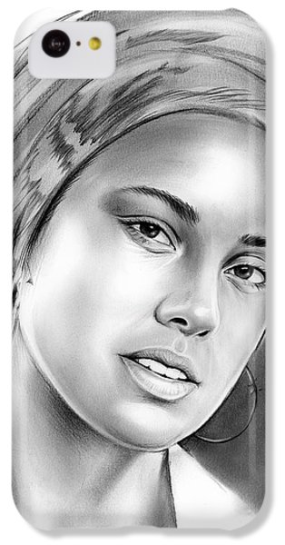 Rhythm And Blues iPhone 5c Case - Alicia Keys by Greg Joens
