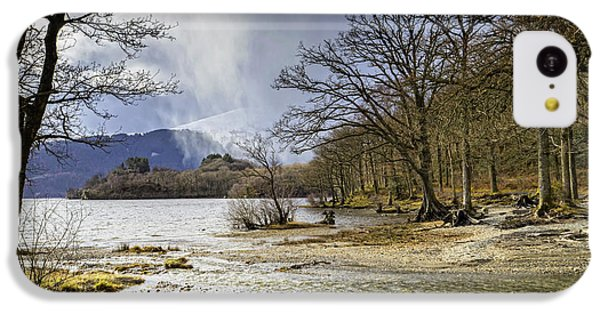 IPhone 5c Case featuring the photograph All Seasons At Loch Lomond by Jeremy Lavender Photography