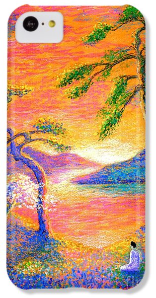Buddha Meditation, All Things Bright And Beautiful IPhone 5c Case by Jane Small