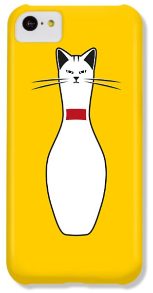Cat iPhone 5c Case - Alley Cat by Nicholas Ely
