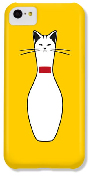 Alley Cat IPhone 5c Case by Nicholas Ely