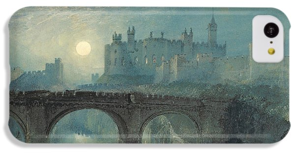 Castle iPhone 5c Case - Alnwick Castle by Joseph Mallord William Turner