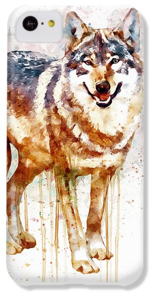 Alpha Wolf IPhone 5c Case